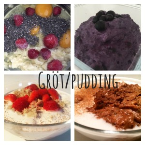 Gröt/pudding